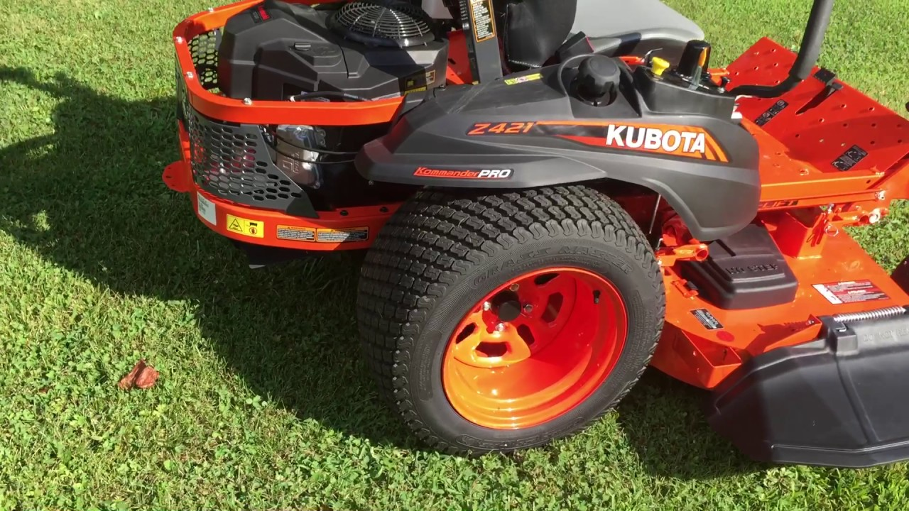 Kubota Z421 Zero Turn Mower