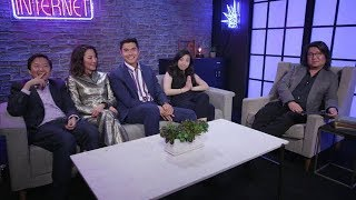 The cast of Crazy Rich Asians was live on facebook