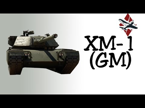 XM-1 (GM) Tank Review | War Thunder