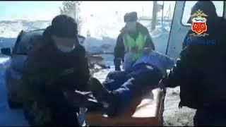 Смотреть видео Сотрудниками полиции закончена проверка по факту ДТП на автодороги Москва Челябинск онлайн