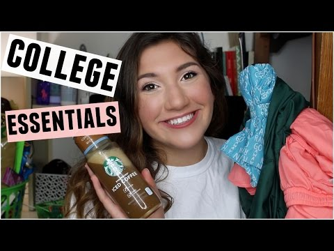 TOP 10 COLLEGE MUST HAVES + ESSENTIALS