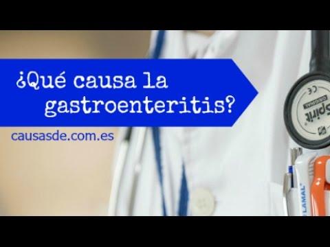 Causas de gastroenteritis
