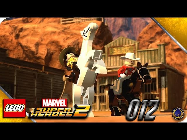 Let's Play LEGO MARVEL SUPERHEROES 2 💥 [012] Wild Wild West