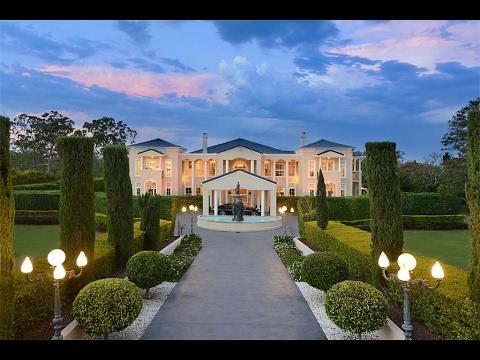 Majestic Mansion Amid Exquisite Gardens in Brisbane ...