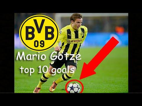 MARIO GÖTZE WELCOME BACK TO DORTMUND (MARIO GÖTZE TOP 10 GOALS)