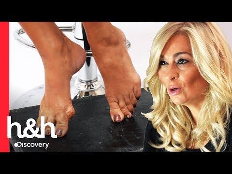 Mary se convierte en modelo de pies | Cake Boss | Discovery H&H