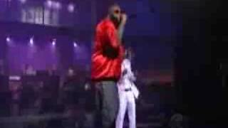 Rick Ross - Yacht Club  David Letterman Live Part 2