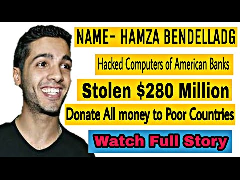 Hamza Bendelladg Robin hood smiling Hacker | full story in hindi | by inform ation