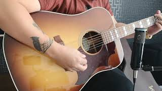 Gibson Hummingbird studio 2019 walnut burst