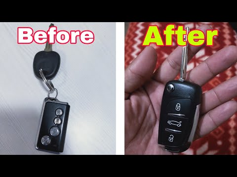 Car Flip Key Making ||Replace Your Old Key|| All Key Solution.