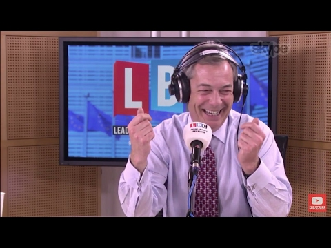 The Nigel Farage Show: Tony Blair & Theresa May. Live LBC. 9th March 2017