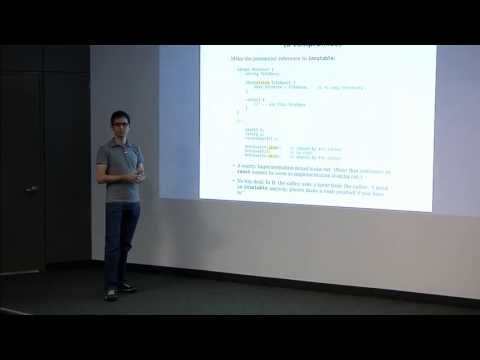 DConf 2013 Day 1 Talk 2: Copy and Move Semantics in D by Ali Cehreli