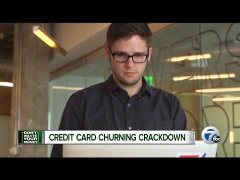 Credit card churning crackdown