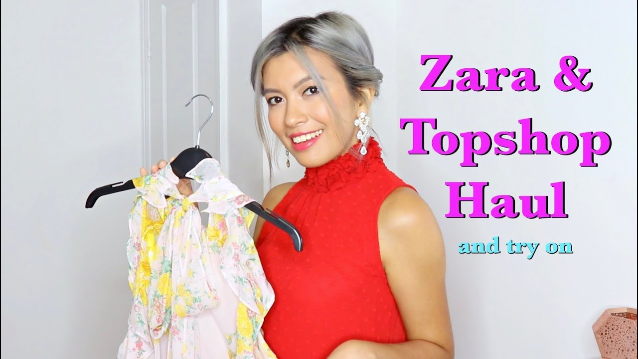 7c7867c1 Zara, Adidas and Topshop Haul Summer 2018 (and Try On) - YouTube
