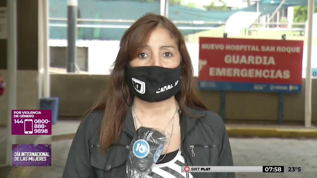 La mujer golpeada en La Cumbre se encuentra internada en grave estado