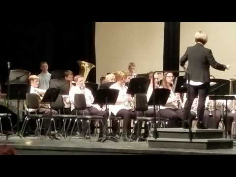 Waverly Shell Rock Middle School 8th grade 02-19-2019 Chester Variations
