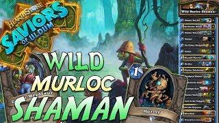Wild Murloc Shaman Deck   Saviors of Uldum   Hearthstone