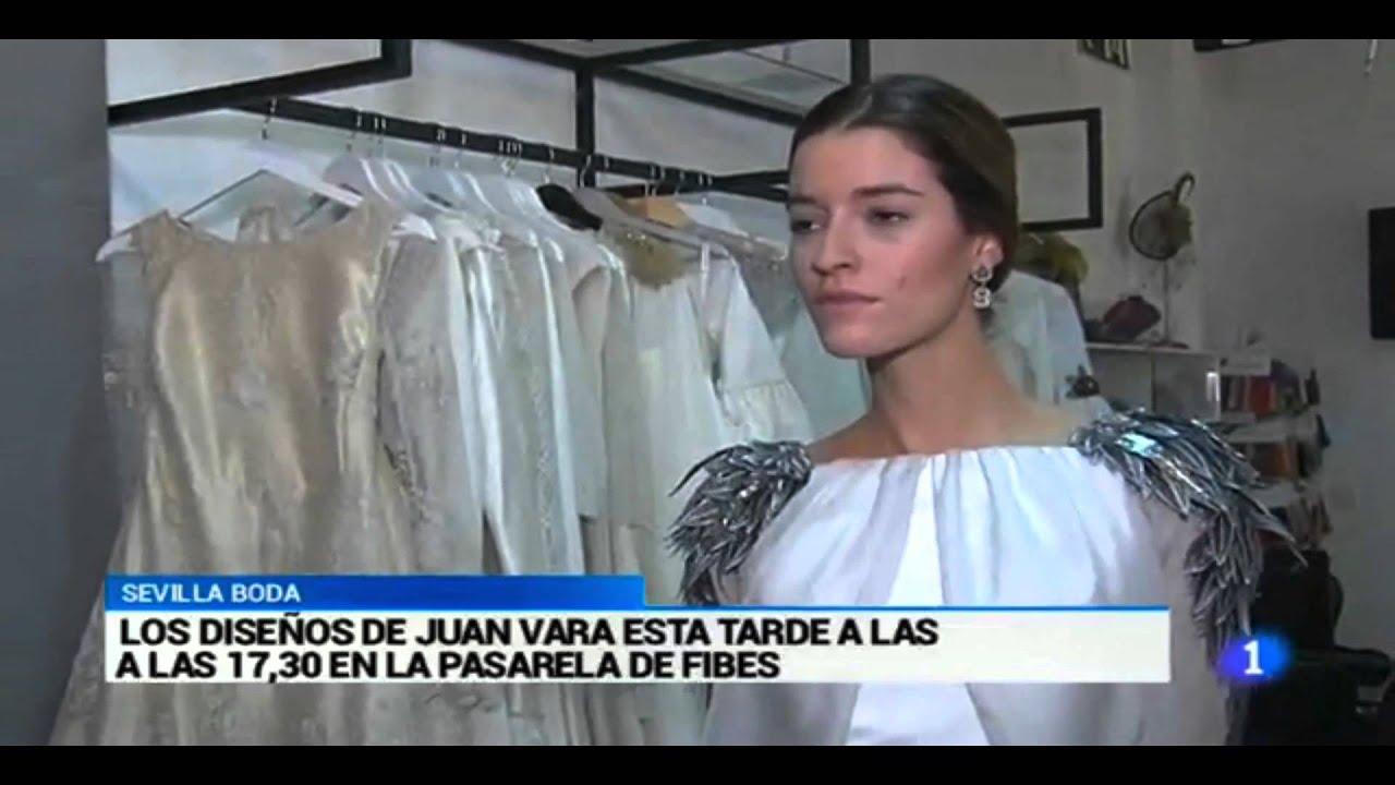 Juan Vara TVE1 Sevilla de Boda - YouTube