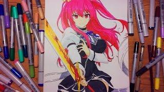 Speed Draw-Stella Vermillion (rakudai kishi no cavalry)