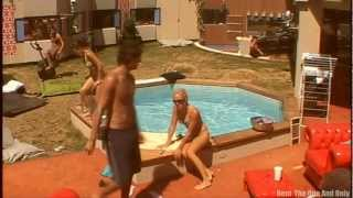 Guy BITES Girls ASS at the POOL