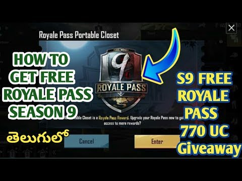how-to-get-free-royale-pass-season-9-in-pubg-mobile-|-season-9-royale-pass-giveaway