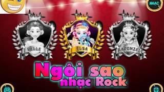 Game Ngôi sao nhạc Rock   Kids Children Games   Em Bi Choi Game