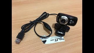 UNBOXING WebCam HAVIT HV-V622 8MP Web Camera PC With Microphone For PC,Notebook