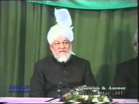 Hazrat Mirza Tahir Ahmad - Majlis E Irfan - (Waqia Shaq Al Qamar)  - by roothmens