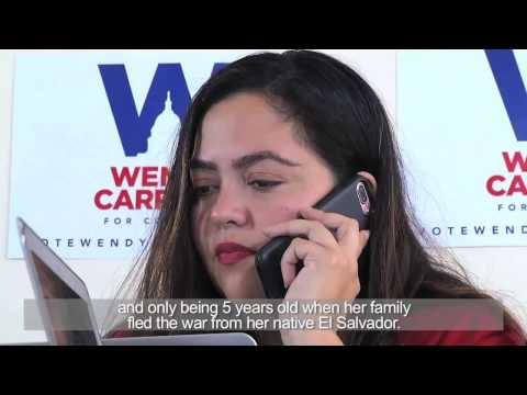 Wendy Carrillo | Univision covers our campaign for Congress