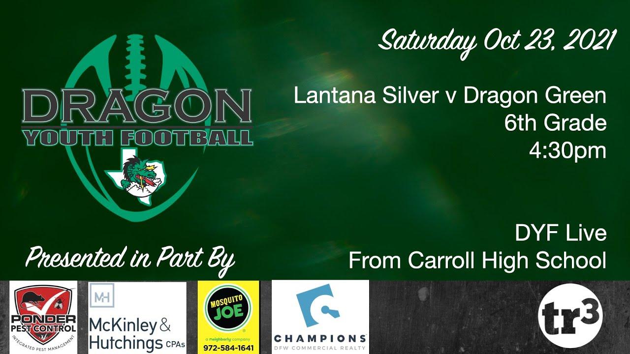 Download Lantana Silver vs Southlake Dragon  Green - 6th Grade - 4:30pm -  October 23, 2021