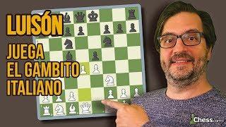 Una apertura de ajedrez sorprendente: el Gambito Italiano