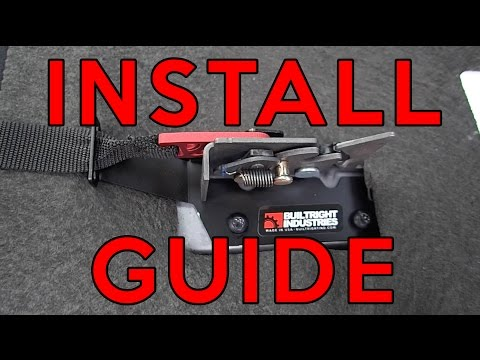 F-150 Rear Seat Release Kit - Install Guide