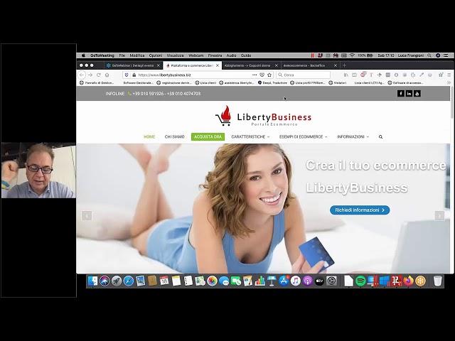 Webinar LibertyBusiness Configurazione posta - LibertyCommerce Academy