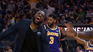 LeBron James FUNNY MOMENTS as a Lakers!