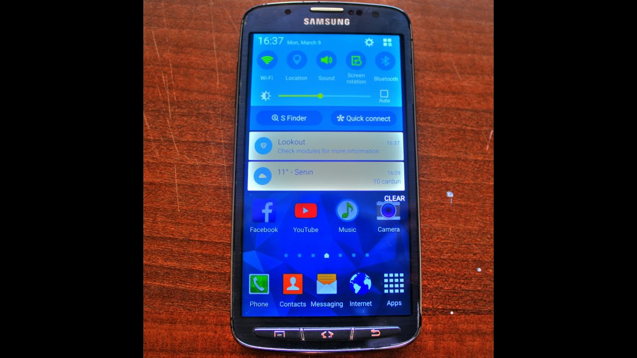Galaxy S4 ACTIVE Official 5.0 LOLLIPOP!(gt i9295)