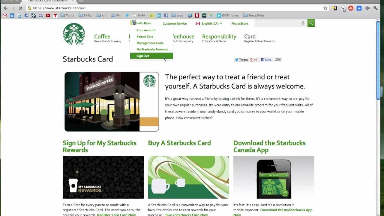 How To Register A Starbucks Card YouTube - Us zip code of philippines
