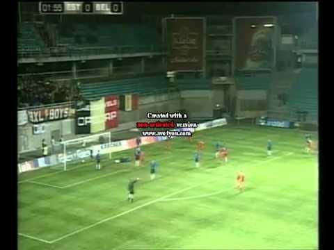 Estonia 0:1 Belgium 2002