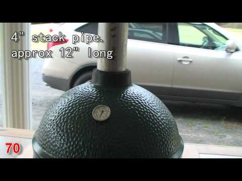 Start Big Green Egg 750 Degrees in 5 minutes