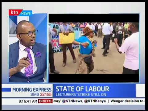 Morning Express - 23rd April 2017 - State of Kenya's Labour Market