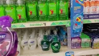 Dollar Tree Soap & Deodorant Shelf Organization 9-15-2019