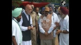 India News - Former Afghan president Karzai attends farmers' fair in northern India