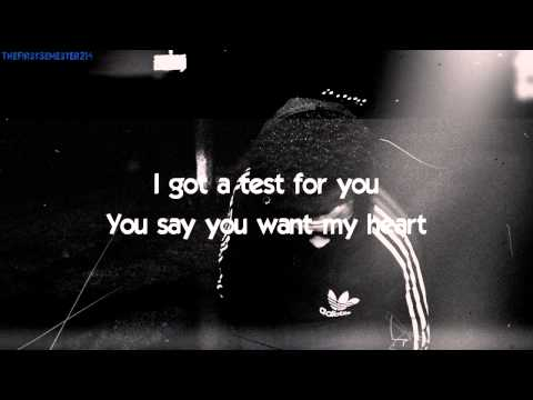 Initiation - The Weeknd Lyrics Onscreen