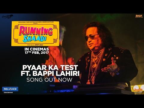 Pyaar Ka Test feat. Bappi Lahiri | RunningShaadi.com | Taapsee Pannu | Amit Sadh