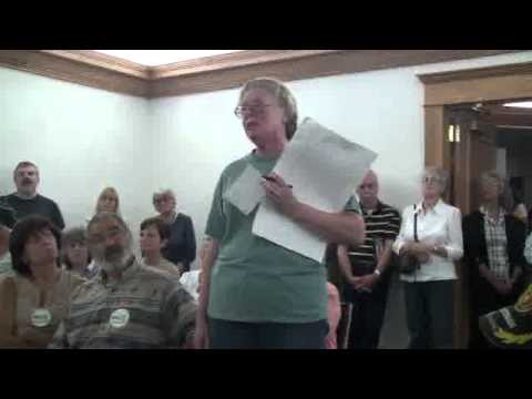 Sanford NY Town Board meeting ( people speak views on fracking ) Aug 14 2012 ( 08/14/2012)