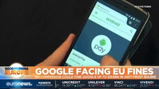 Google Facing EU Fines: EU Commission could fine Google up to €9.6 billion in anti-trust ruling thumbnail