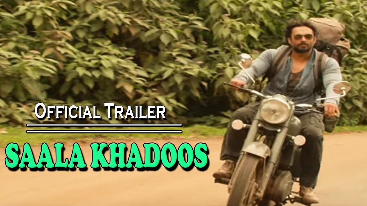 "Film ""Saala Khadoos"" 2016 - Official Trailer - R .Madhavan And Ritika Singh"