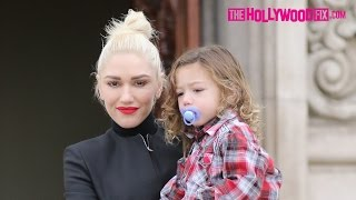 Gwen Stefani Takes Her Kids To Church Before Heading To Her Parents House For Lunch 1.15.17