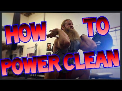 How to: Power Clean