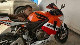 Mi nueva moto  Robando miradas ! Honda CBR 600rr