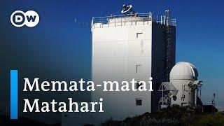 Mengamati Matahari dengan Teleskop Raksasa di Pulau Tenerifa